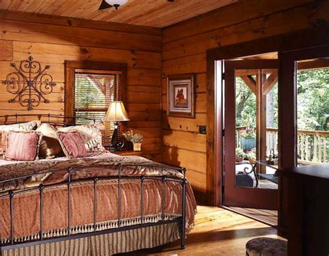 log home bedrooms log home tours