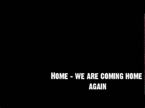 green day we re coming home again with lyrics