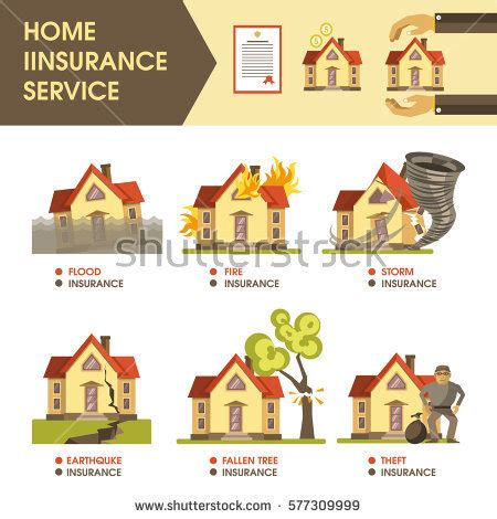insurance trees near house earthquake symbol stock images royalty free images vectors shutterstock
