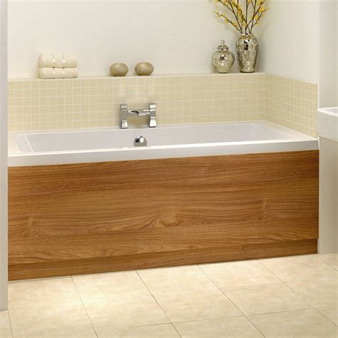 bathtub wood panel oak wooden bath panel 1700 victoria 163 49 or in white
