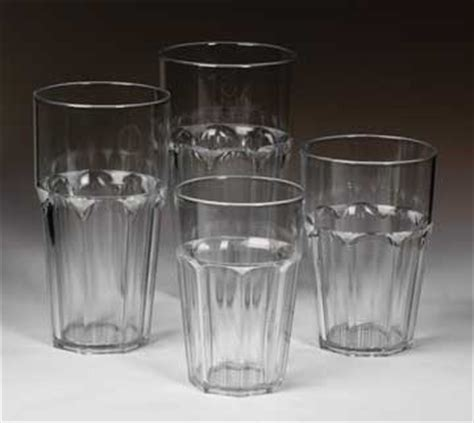 commercial barware sausalito plastic drinkware series features seamless