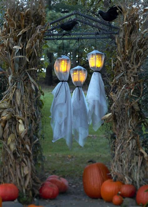 home made halloween decoration ideas 125 cool outdoor halloween decorating ideas digsdigs