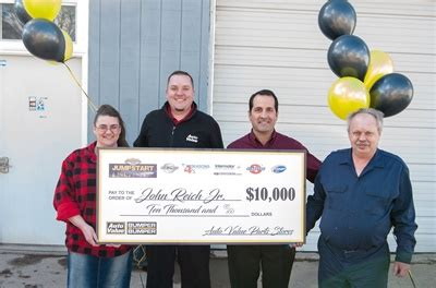 Car Dealership Mail Sweepstakes - top prize winner named in aftermarket jackpot jumpstart sweepstakes suppliers