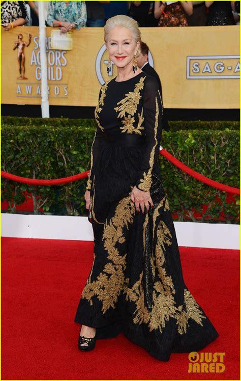 Helen Mirren Has At Sag Awards by Helen Mirren Sag Awards 2014 Carpet Photo 3034676