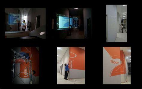 design interior binus signage main cus binus universty alam sutera