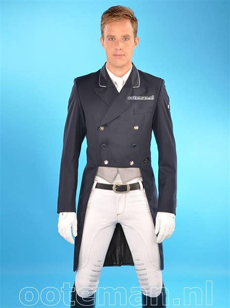 Jaspria Jas Exclusive Navy Blue kingsland dressage tailcoat dressage navy ooteman equestrian