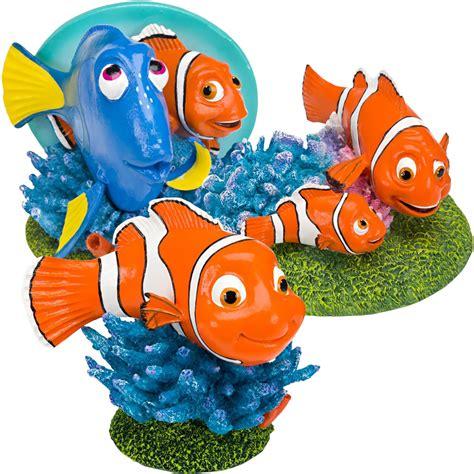 ornement set finding dory finding nemo friends aquarium ornament set healthypets