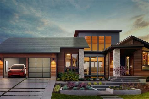 tesla is officially in the solar roof business says elon musk
