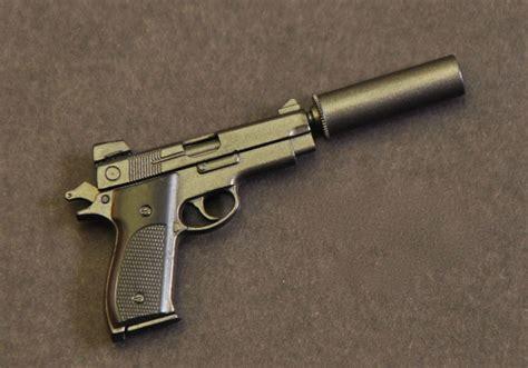 hush puppy pistol miniature smith wesson mk22 with silencer hush puppy pistol nam dml 1 6 scale ebay