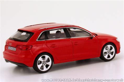 Modellauto Audi A3 by Audi A5 Dtm Und Audi A3 Sportback Neu Als Modelle In 1 43
