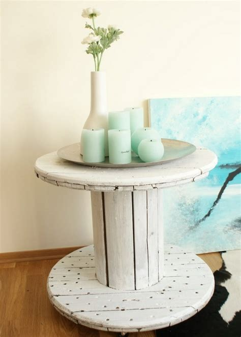 table basse touret bois