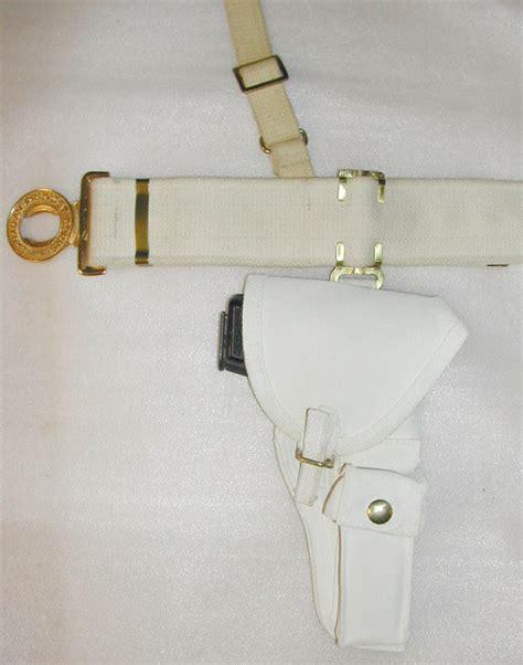 1964 pattern web equipment white provost pattern web equipment