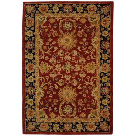 Home Depot Safavieh Rugs Safavieh Anatolia Navy 6 Ft X 9 Ft Area Rug An517a 6