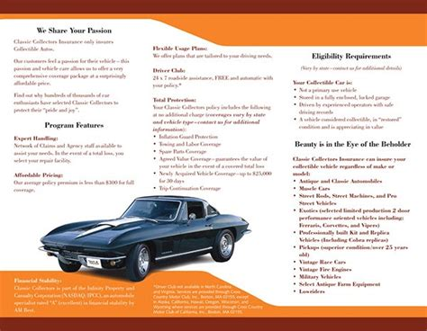 Infinity Auto Insurance Login by Classic Car Insurance Infinity Classic Car Insurance