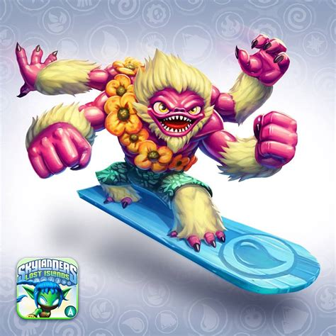 Kaos And Friends Pop Up surfer slam bam skylanders wiki fandom powered by wikia