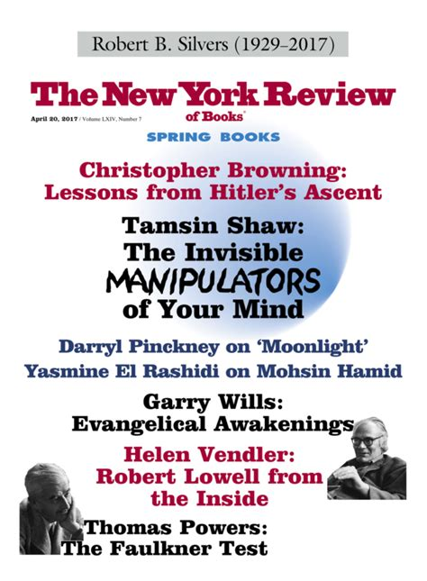 Cornell Mba Review by Table Of Contents April 20 2017 The New York Review