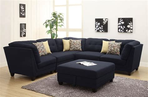 Contemporary Sectional Sofas With Chaise Contemporary Black Leather Sectional Sofa Left Side Chaise By Coaster Cleanupflorida
