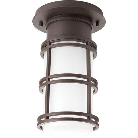 bronze flush mount light progress lighting bell collection 1 light antique bronze