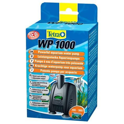 Pompa Aquarium 1000l H pompe 224 eau 1000 l h tetra wp1000 aquaprems