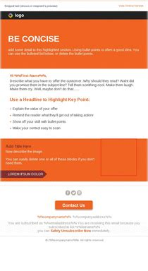 Email Newsletter Templates Mobile Friendly Exles Pinpointe Mobile Friendly Newsletter Templates