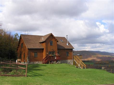 log home catskill mountains 52 acre ranch for sale
