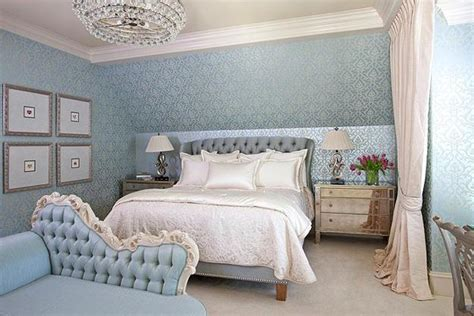 light blue color bedroom decorating ideas with enhancing