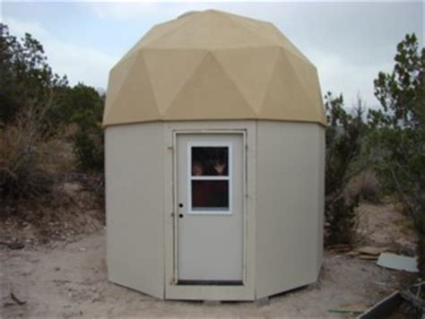 dome cabin kits small dome cabin built with econodome frame kit