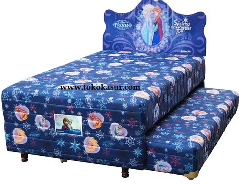 Kasur Alga Bed big 2in1 frozen toko kasur bed murah simpati furniture