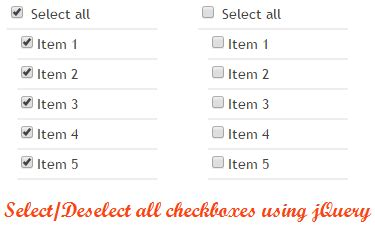 select / deselect all checkboxes using jquery codexworld