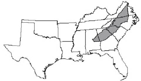 Southern United States Outline Map by Conservation Ecology Landscape Change In The Southern Piedmont Challenges Solutions And