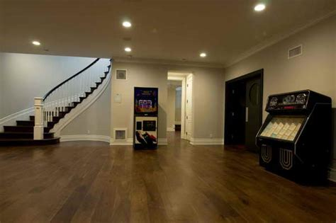 Cork Floor In Basement Bloombety Cork Flooring Basement Stairs With Wood Pros