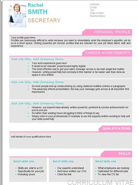 free eye catching resume templates eye catching resume statements photos exle