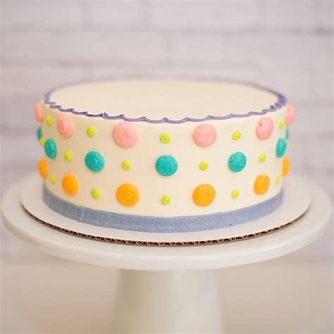 polka dot cakes polka dot cake buttercream s bakeshop