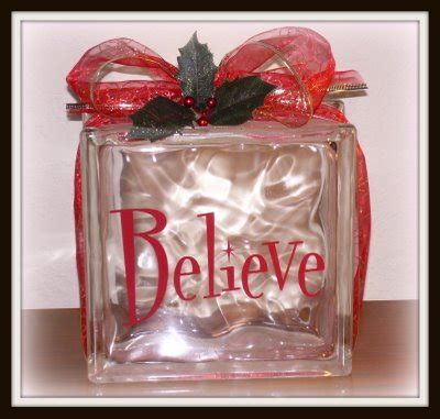 How To Decorate Glass Blocks by S Day Craft Ideas Glass Block Project Ideas