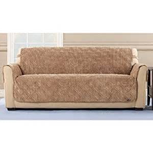 Best Sofa Slipcovers Reviews Amazon Com Sure Fit Quilted Corduroy Sofa Pet Cover