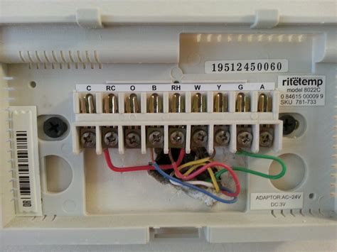 9580 honeywell thermostat wiring diagram 28 images