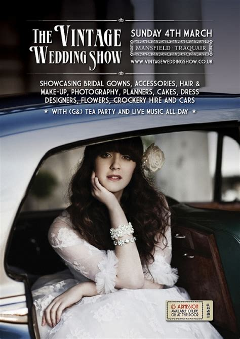 Today Show Scotland Giveaway - giveaway 5 pairs of tickets to the vintage wedding show edinburgh bloved blog