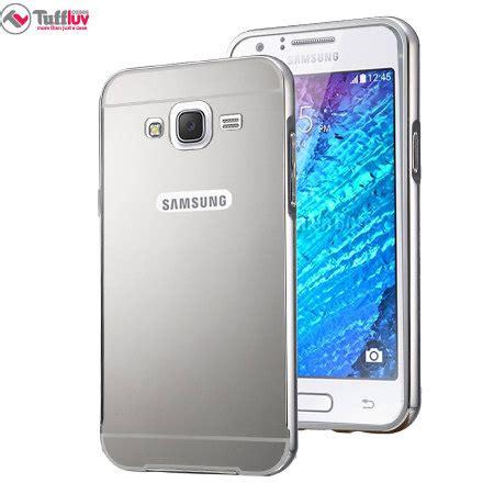 Samsung J5 Warna Silver tuff samsung galaxy j5 2015 brushed metal bumper silver mobilefun co nz