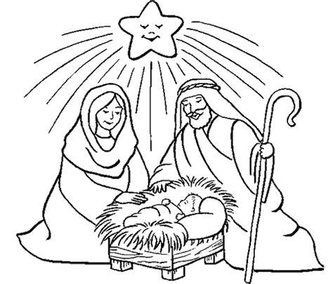 imagenes para colorear nacimiento de jesus 174 blog cat 243 lico navide 241 o 174 nacimientos para colorear