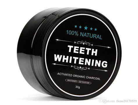 natural teeth whitening powder smoke coffee tea stain