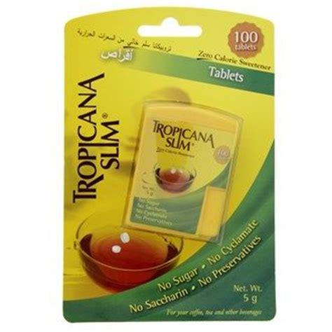 Tropicana Slim Sweetener Lemon 25 S buy tropicana slim zero calorie sweetener sugar