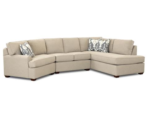 klaussner sectional sofa klaussner hybrid sectional sofa with left facing sofa