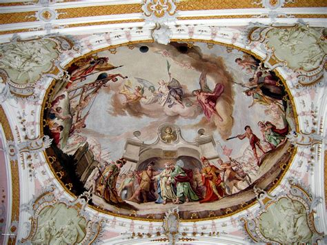 ceiling art church ceiling painting painting by suhas tavkar