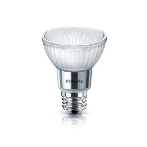 philips 50 watt equivalent par20 dimmable led light bulb