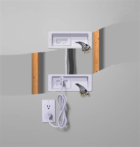 here s how to get rid of wires with a tv wall mount