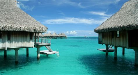 bungalow overwater in fiji islands yfgt bora bora overwater bungalows mccoy luxury vacations