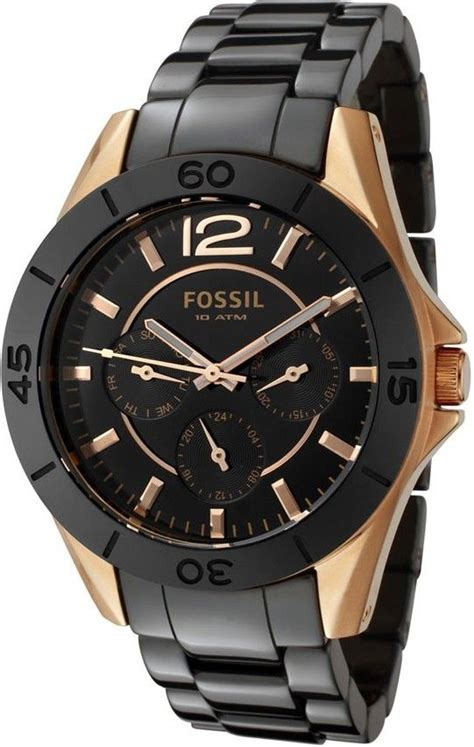 Fossil Boyfriend Silver Soft Blue Leather 78 best images about fossil watches on
