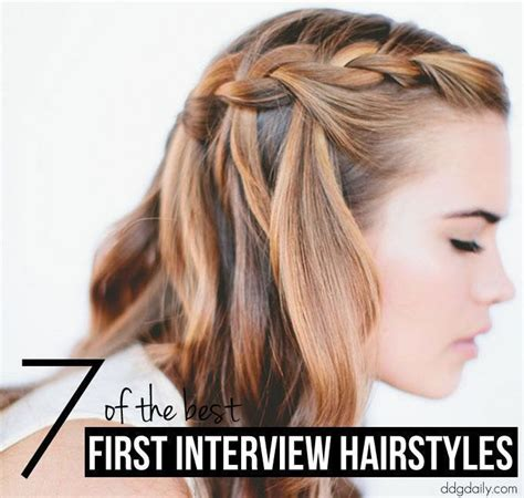 ideas  job interview hairstyles  pinterest