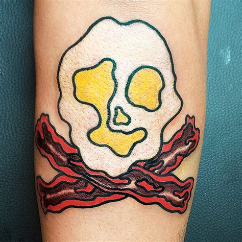 food tattoo best food tattoos meattt inc best of new york