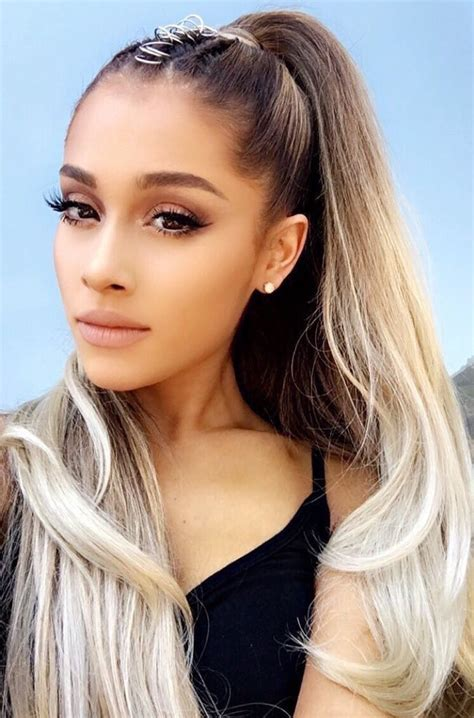 how to do the grande hairstyle see which stars love rocking hair piercings twist